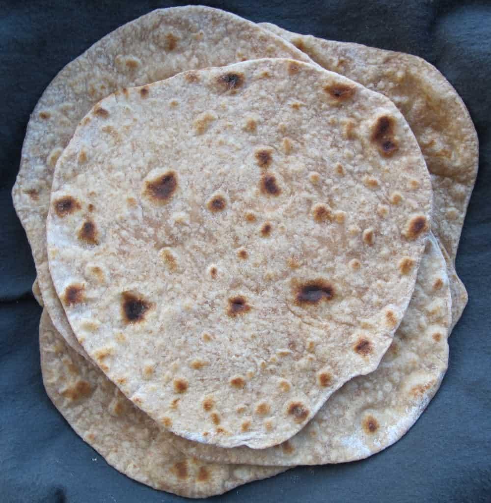 Spelt chapatis