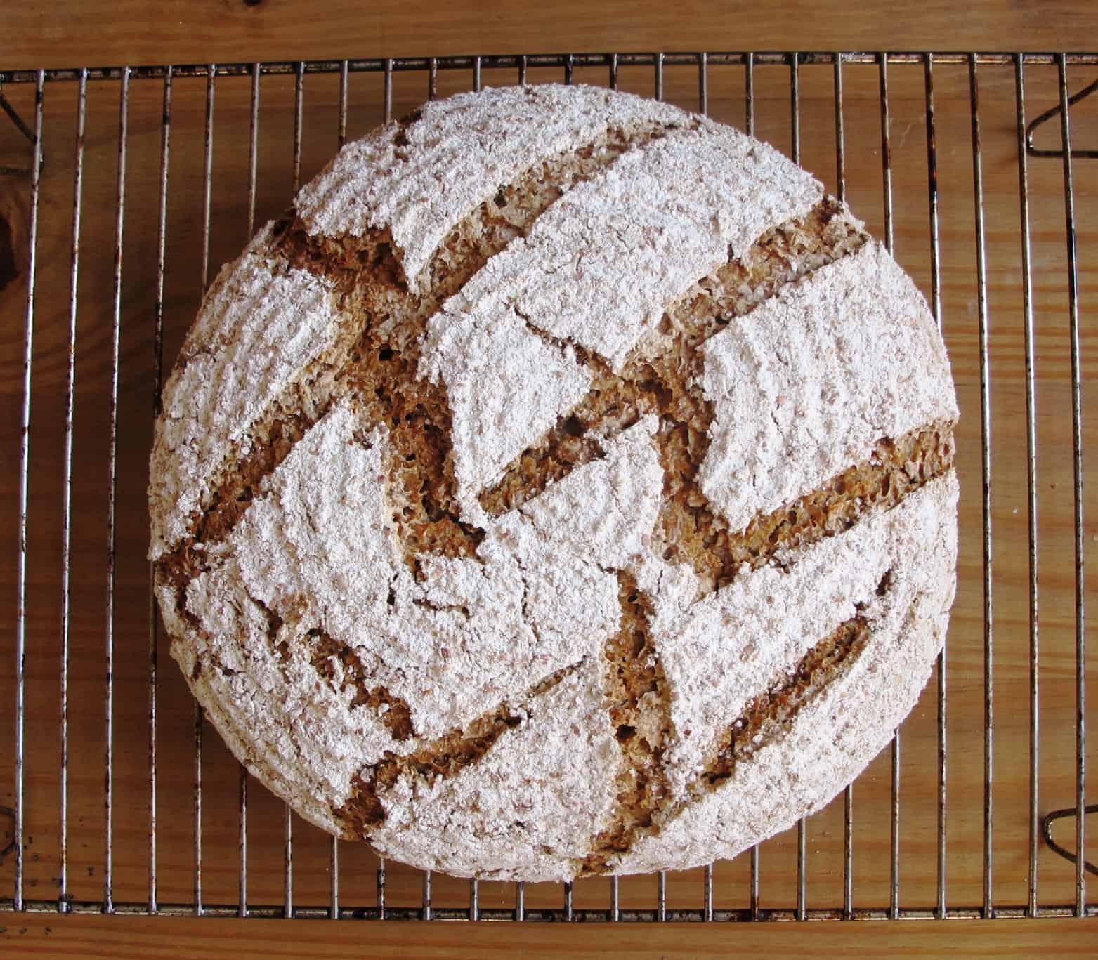 Austrian bread - Hausbrot