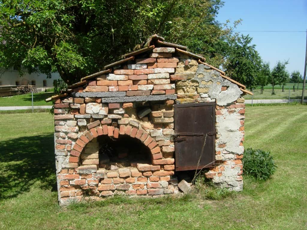 Our old Brick Oven in Upper Austria