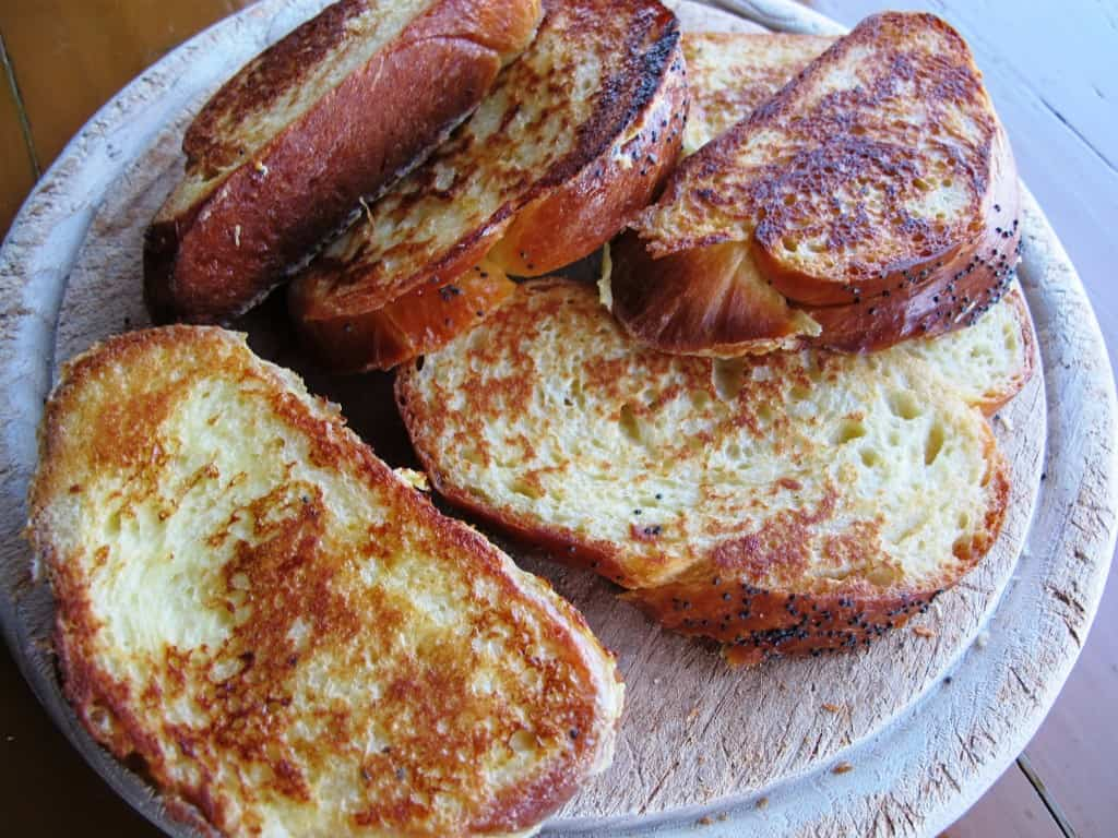French Toast made from Challah