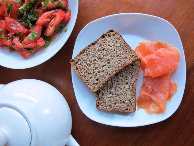 German sunflower seed bread