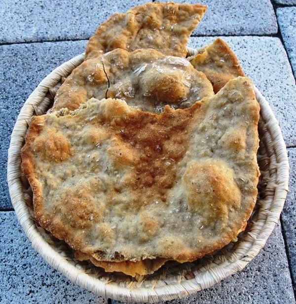 Eisacktaler Schüttelbrot from the Bäckerei Überbacher in Southern Tyrol
