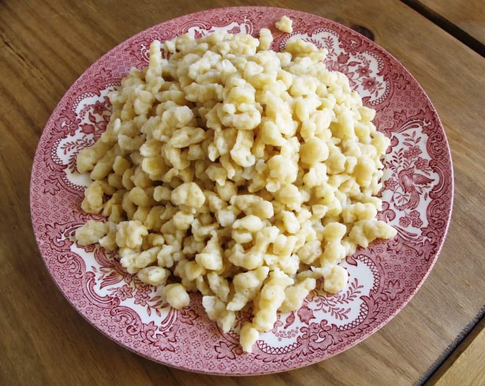 German Spätzle Pasta