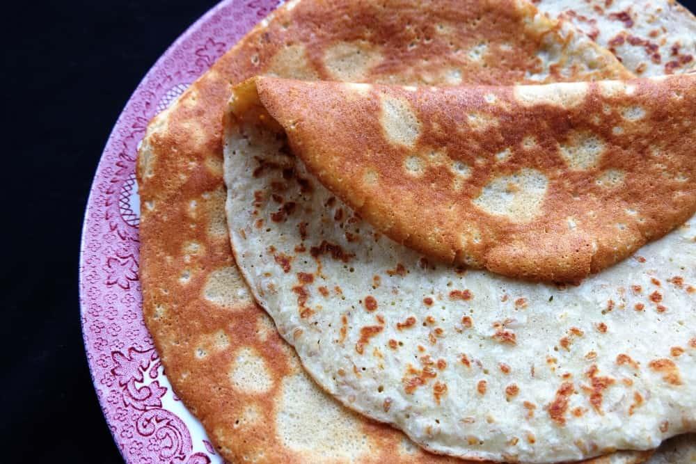 Sweet sorghum flour pancakes gluten free