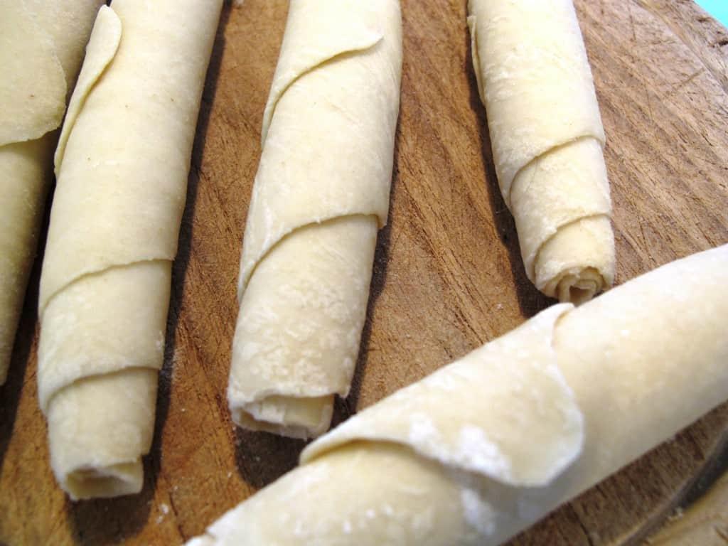Salzstangerl Rolled Dough