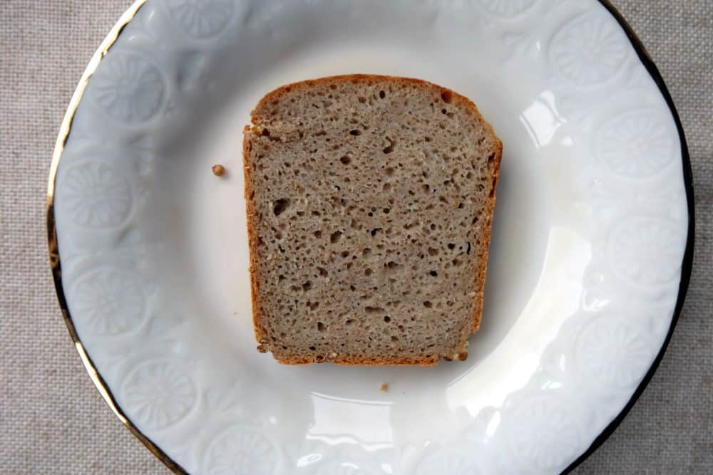 Dan Lepard Pure Rye Flour Bread