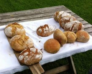 Innviertler Backofenbrot fertig gebacken