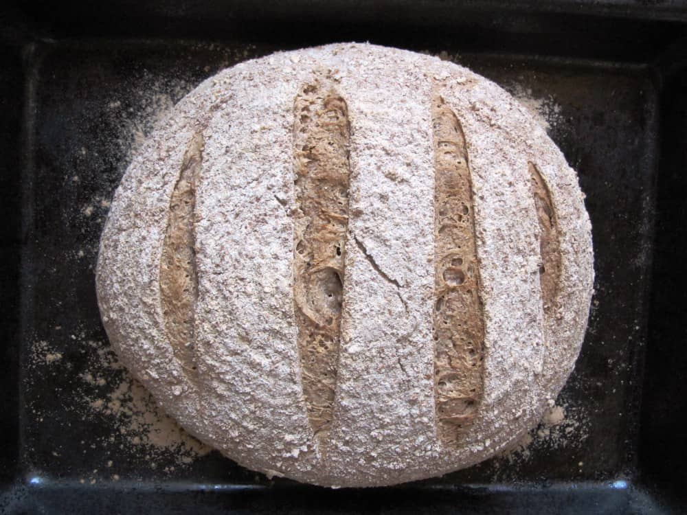 Pain de campagne sourdough