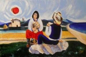 Farmers in Maremma by Giuliano Rossi