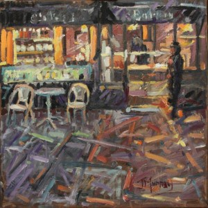 The Bakery by Jane Murray (Oil Painting)