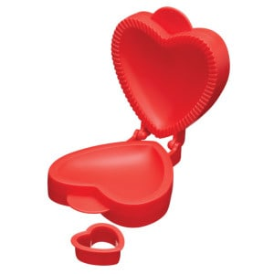 Heart Pie Pocket Mould
