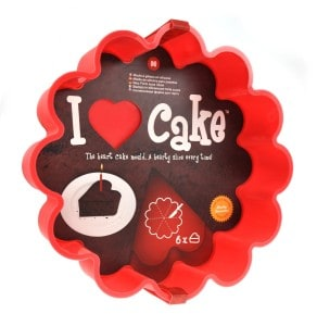 I love cake baking cake mould