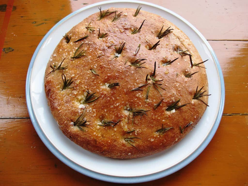 Rosemary & sea salt focaccia