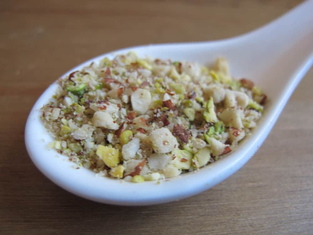 Pistachio hazelnut sugar mix