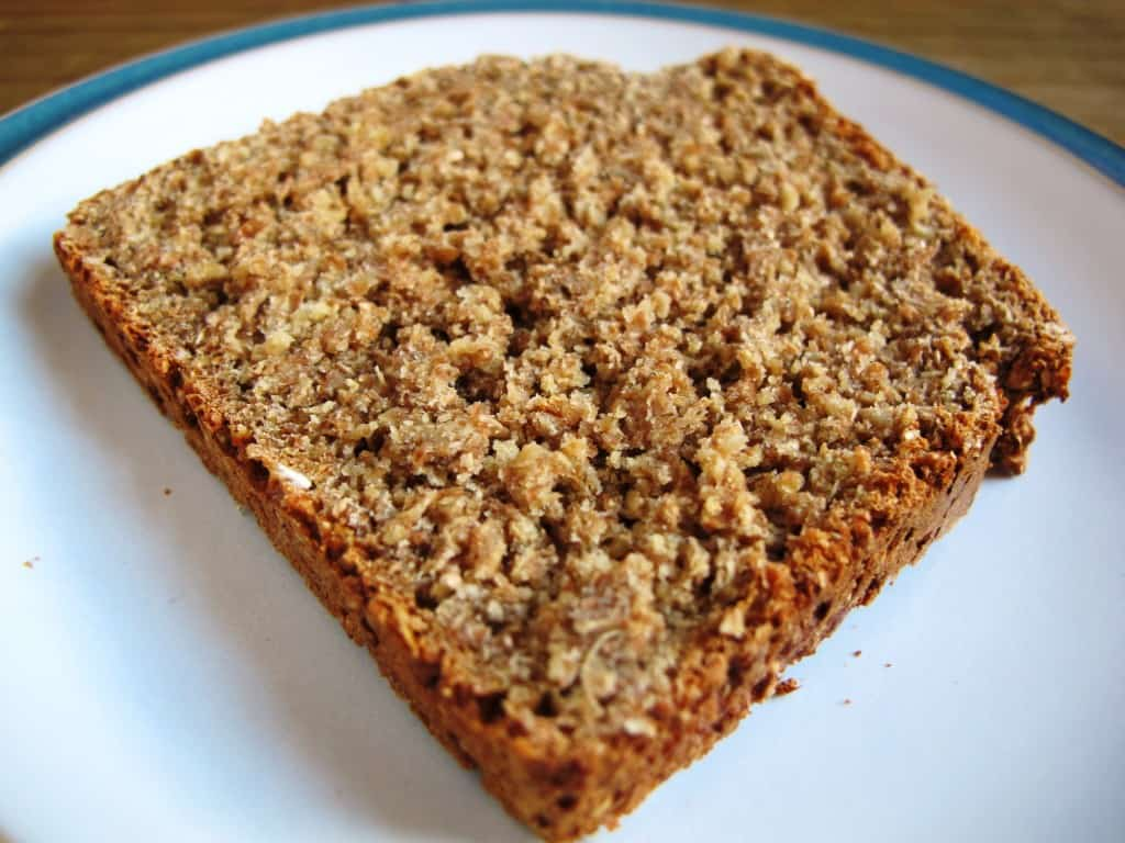 Slice of Irish Brown Soda Bread