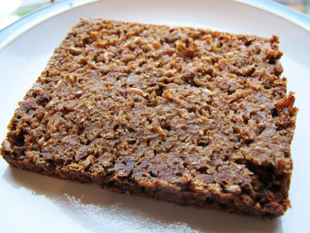 Pumpernickel Slice