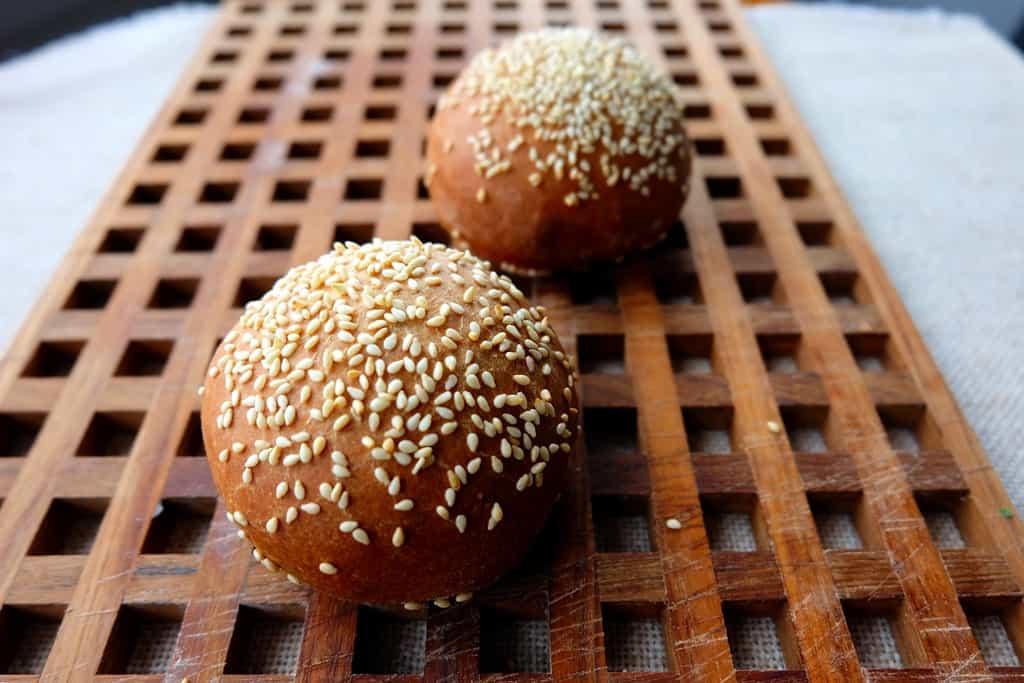 Cemita bread rolls