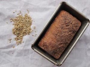 Danish malted rye bread