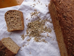 Malted rye loaves