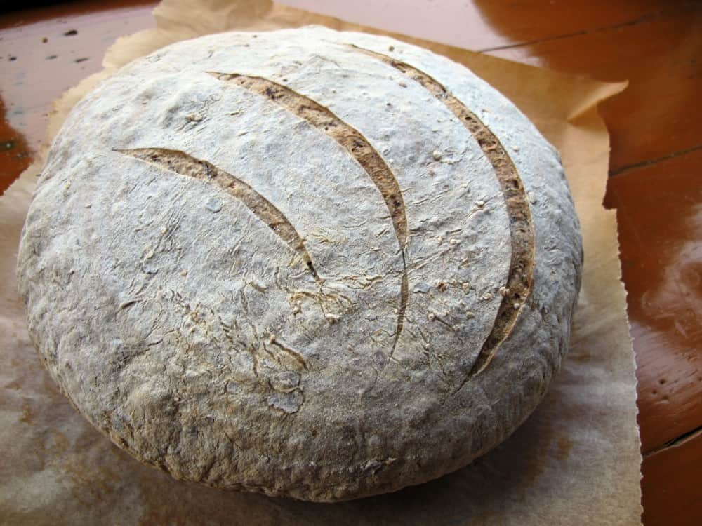 Seaweed (dulse) sourdough