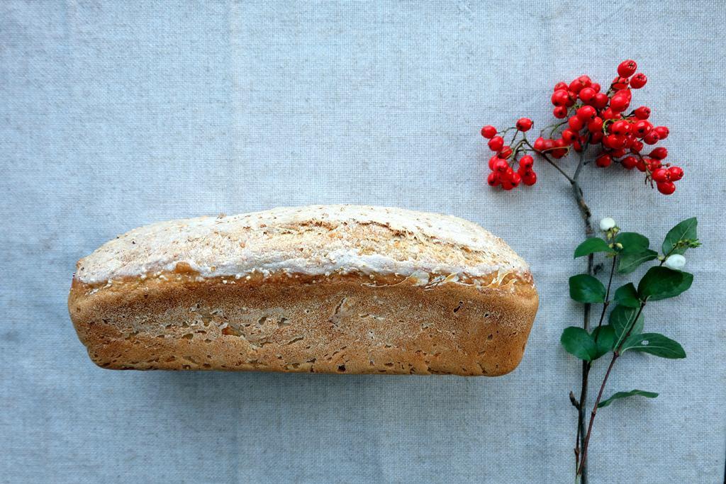 Millet seed bread