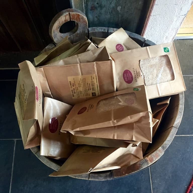 Hemsedal Flatbrødbakeri, flatbread bucket