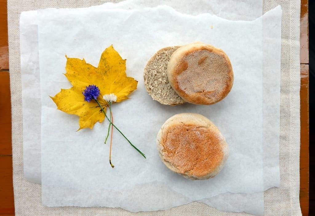 Buckwheat English Muffins