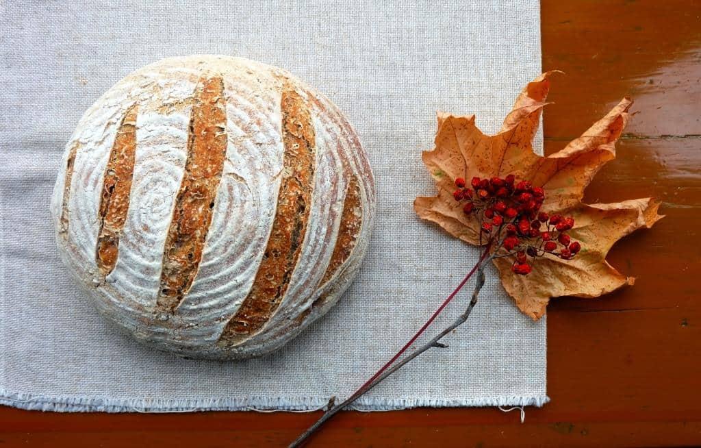 Walnut Sourdough Bread Recipe The Bread She Bakes