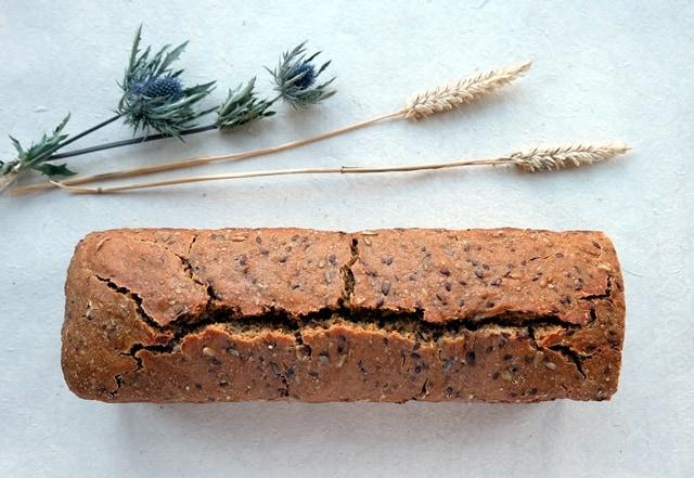 Seeded sourdough bread