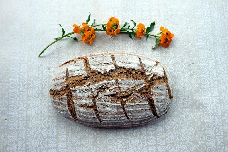Caraway seed bread