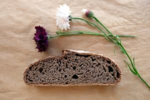 Grape seed bread
