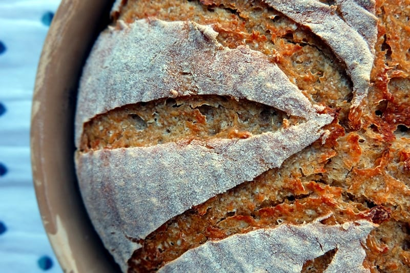 Buttermilk sourdough bread