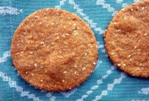 Buckwheat cracker