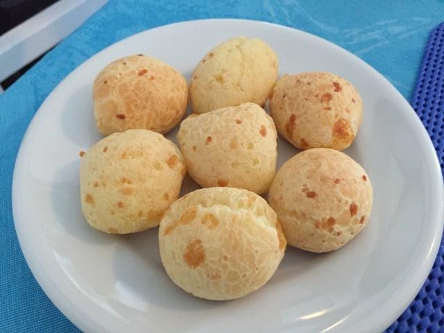 Pao de queijo tapioca cheese puffs