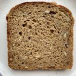 Protein rich sourdough bread